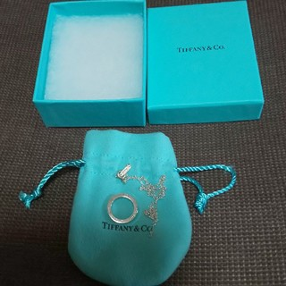 ティファニー(Tiffany & Co.)のティファニー1837サークルネックレス(ネックレス)