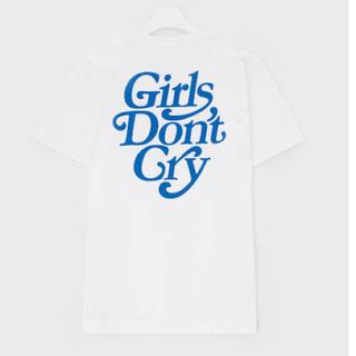GDC - girls don't cry Tシャツ ホワイト XL 青