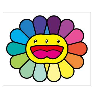 100 / 100 村上隆 Multicolor Double Face(版画)