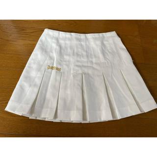 【予約品】ヘルベントスカート ホワイト レッドのセット(24インチ)(ボウリング)