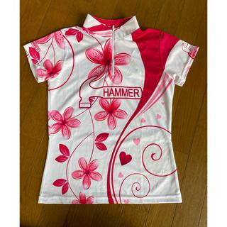ハンマー ハイファイブシャツ レディースMサイズ(ボウリング)