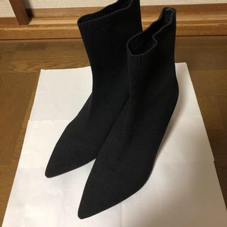 ザラ(ZARA)のZARA  ソックスブーツ(ブーツ)