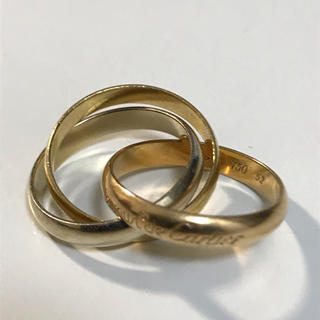 カルティエ(Cartier)のカルティエ トリニティ3連リング(リング(指輪))