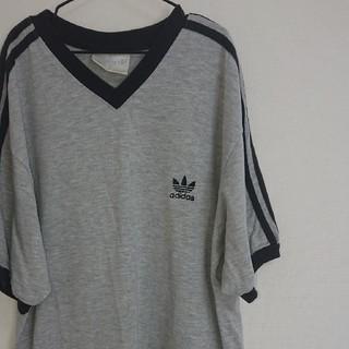 アディダス(adidas)の【アディダスオリジナルス】激レア! 80's ヴィンテージ ロゴ Tシャツ(Tシャツ/カットソー(半袖/袖なし))