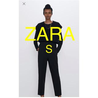 ザラ(ZARA)のZARA ハイウエストパンツ(クロップドパンツ)