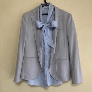 アオキ(AOKI)のAOKI  夏用ジャケット&半袖ブラウス セット(テーラードジャケット)