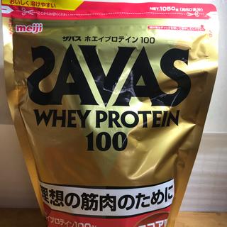 SAVAS - ザバス ホエイプロテイン100 ココア味 1050g