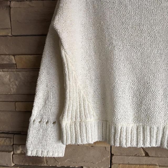 STUNNING LURE(スタニングルアー)のスタニングルアー♡ホワイトニット メンズのトップス(ニット/セーター)の商品写真