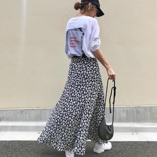ZARA - 花柄スカート