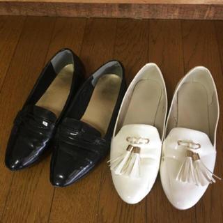 ザラ(ZARA)の♡本日限定お値下♡セレクトショップ購入 ローファー セット♡M(ローファー/革靴)