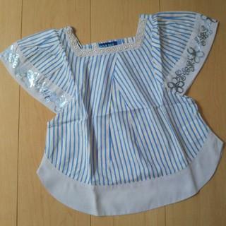 アナスイミニ(ANNA SUI mini)のANNA SUI mini ストライプ カットソー 110cm(Tシャツ/カットソー)