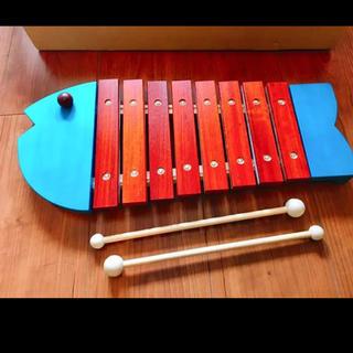 ボーネルンド オリジナルシロフォン 木琴 青