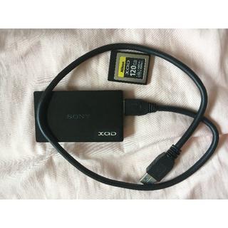 ニコン(Nikon)のNIKON XQDメモリーカード 120GB(その他)