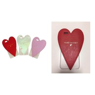 ハニーミーハニー(Honey mi Honey)のheart iPhone case(スマホケース)