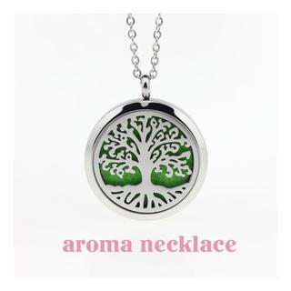 【新品】アロマ ネックレス ペンダント プレゼント 香水(ネックレス)