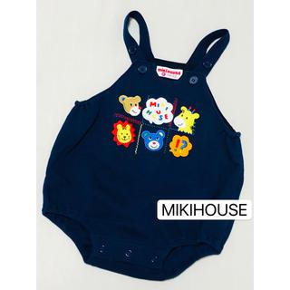 mikihouse - ミキハウス☆レトロ☆希少☆ダルマオール☆ロンパース☆オーバーオール☆80 85