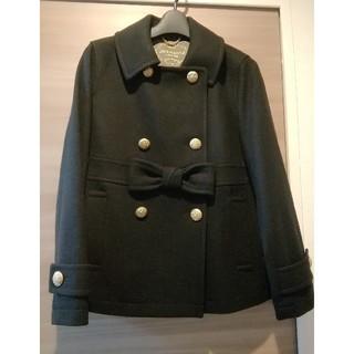 JaneMarple - ジェーンマープル front ribbon  melton p coat 未使用