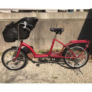 アサヒ(アサヒ)の子供乗せ自転車 プチママンミニ 安定感のある小径タイプ(自転車)
