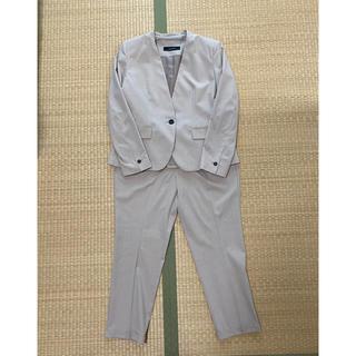 ザラ(ZARA)の未着用 ZARA   パンツ スーツ セットアップ 春夏 ベージュ ほぼ新品(スーツ)