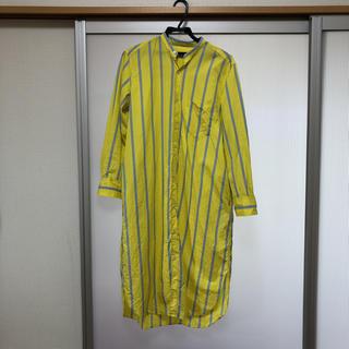 トゥモローランド(TOMORROWLAND)のシャツ ワンピース(ひざ丈ワンピース)