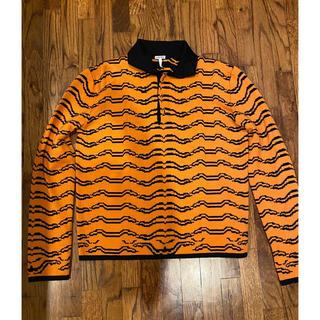 ロエベ(LOEWE)の美品 Loewe ロエベ ポロシャツ M オレンジ タイガー(ポロシャツ)