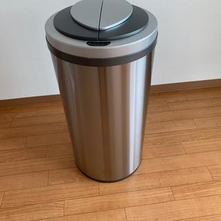 ZitA ジータ ゴミ箱 自動開閉 センサー式 ダストボックス 大容量 45L (ごみ箱)