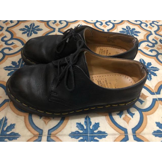 Dr.Martens(ドクターマーチン)の※再投稿 ドクターマーチン 3ホール 24cm レディースの靴/シューズ(ローファー/革靴)の商品写真