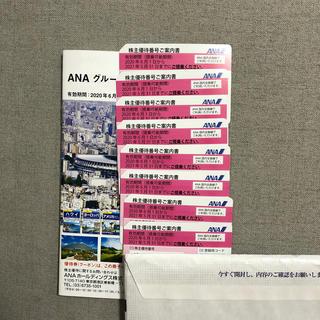 ANA(全日本空輸) - ANA株主優待券 8枚   クーポン冊子付き