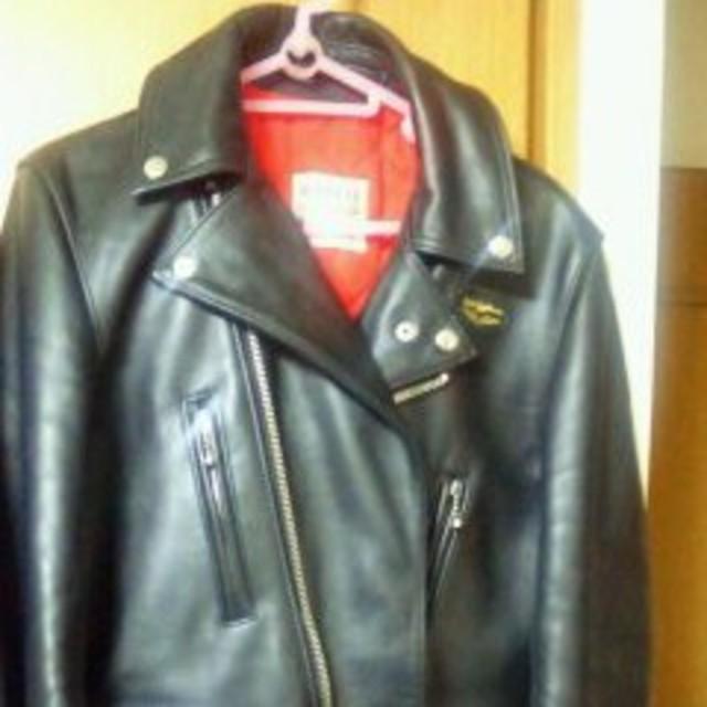 ルイスレザーライトニングTF402 メンズのジャケット/アウター(ライダースジャケット)の商品写真