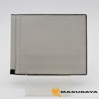 ヴァレクストラ(Valextra)のヴァレクストラマネークリップ財布【超美品】(折り財布)