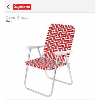 シュプリーム(Supreme)のSupreme Lawn Chair Red 送料込み(折り畳みイス)