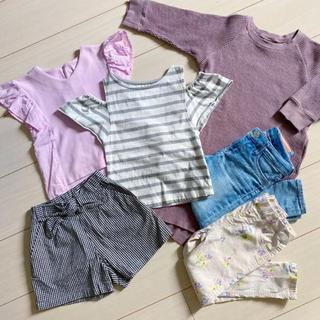 プティマイン(petit main)の女の子 おまとめセット 100サイズ 6点(Tシャツ/カットソー)