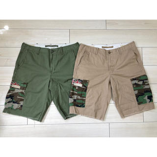 デニムアンドサプライラルフローレン(Denim & Supply Ralph Lauren)のDENIM&SUPPLY CARGO shorts w33 SET(ショートパンツ)