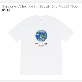 シュプリーム(Supreme)のsupreme the north face one world tee(Tシャツ(半袖/袖なし))