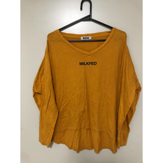 ミルクフェド(MILKFED.)のMILK FED.  one size (Tシャツ(長袖/七分))