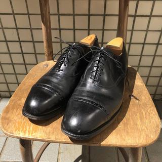 アレンエドモンズ(Allen Edmonds)のビンテージ アレンエドモンズ byron ストレートチップ 革靴(ドレス/ビジネス)