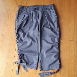 アディダス(adidas)のadidas レディースLサイズ 七分丈パンツ(ハーフパンツ)