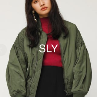 SLY - 【美品】SLY TUCK SLEEVE OVER MA-1