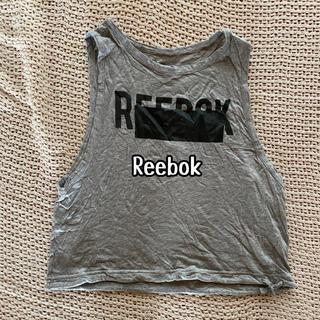 Reebok - リーボック Reebok タンクトップ  半袖 グレー