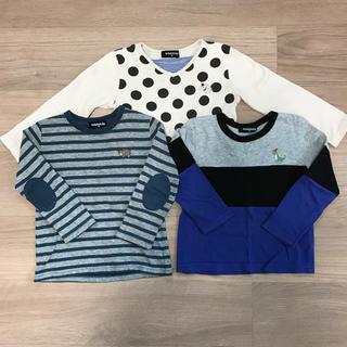 kladskap - クレードスコープ Tシャツ ロンT 100 3枚セット