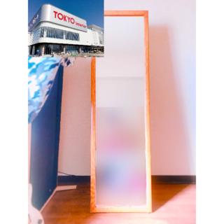 [直のみ][東京インテリア]ジャンボスタンドミラー 全身姿見[訳あり格安](スタンドミラー)