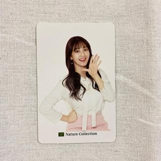 【レア】TWICE ジヒョ ネイチャーコレクション カード