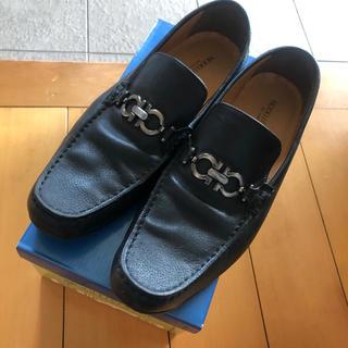 マドラス(madras)の美品MODELLO VITA by madras マドラス 合皮革靴 27センチ(ドレス/ビジネス)