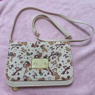 ディズニー(Disney)のチップとデール 財布 付き ポシェット (財布)