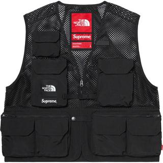 シュプリーム(Supreme)の【S】supreme the north face Cargo Vest (ベスト)
