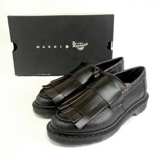 Dr.Martens - 【新品】マーチン×マルニ Adrian ローファー UK6 25cm ブラック