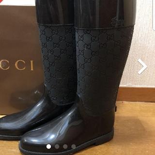 グッチ(Gucci)の専用です!正規品 GUCCIレインブーツ(レインブーツ/長靴)