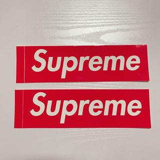 supreme LOGO sticker(ステッカー)