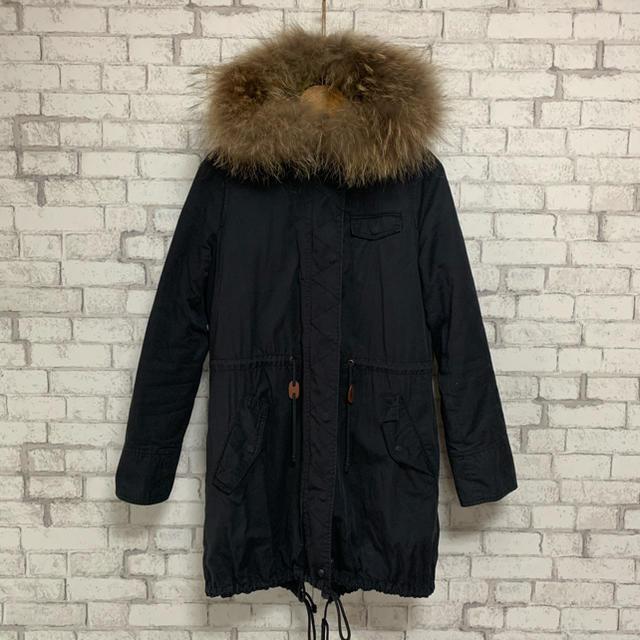 RODEO CROWNS(ロデオクラウンズ)の【最終値下げ!】RODEO CROWNS ロデオクラウンズ/モッズコート 美品 レディースのジャケット/アウター(モッズコート)の商品写真