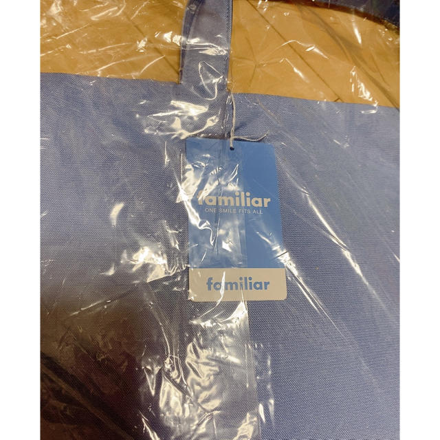 familiar(ファミリア)の新品★ファミリア デニムバッグ キッズ/ベビー/マタニティのこども用バッグ(レッスンバッグ)の商品写真
